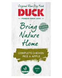 DUCK Komplett Huhn, Reis, Apfel